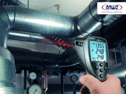 TESTO 845 - RANGO: -35 a 950° C (OPCION