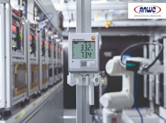 SAVERIS 2-H2 - Registrador WIFI de temperatura y h