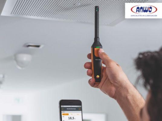 testo 605i - Termohigrómetro para smartphone