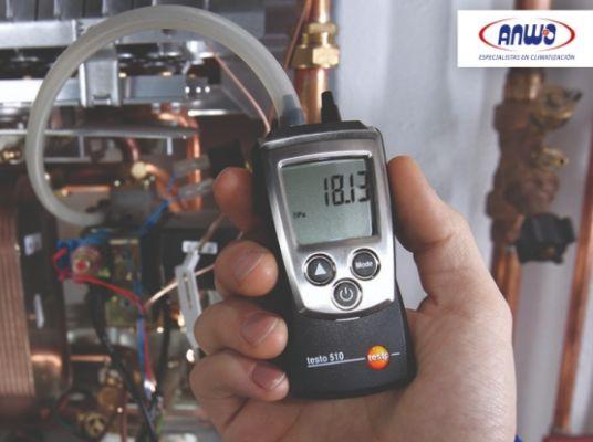 TESTO 510 - Pequeño manómetro presión diferencial (0 a 100 mBar)