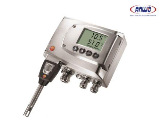 Testo 6621-Transmisor humedad y temperatura para ductos o salas