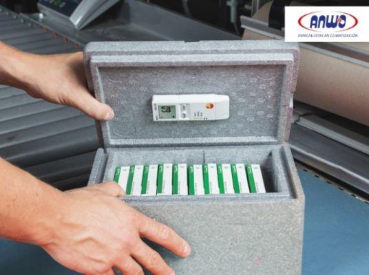 Testo 184 H1 -  Monitor de temperatura y humedad p