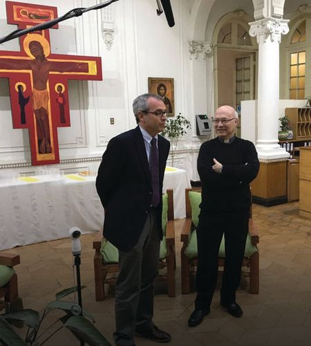 Inaugurada La Casa Nueva de la comisión de la visita del Papa