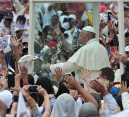 Más de 6 millones de colombianos participaron en las actividades del Papa Francisco