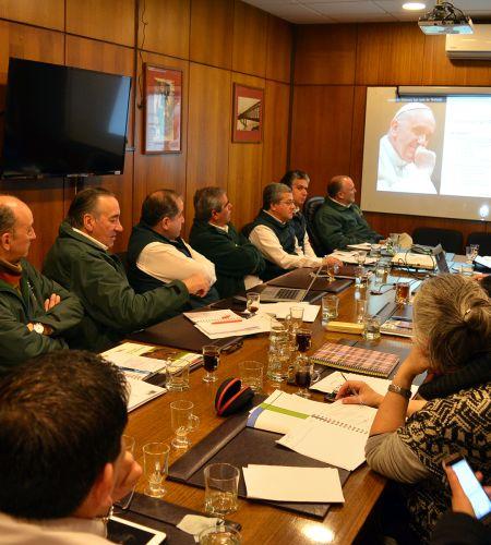Municipio de Temuco conoce detalles de la visita del Papa Francisco