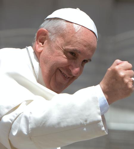Llegada del Papa Francisco a Chile