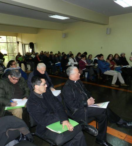 Comisión Nacional compartió en Chillán preparativos de la visita de Francisco