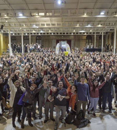 Más de 450 Coordinadores de voluntarios papales recibieron su primera capacitación