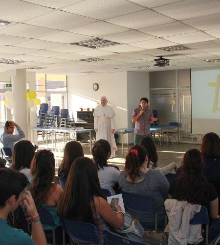 Primera capacitación para voluntarios papales en Talca
