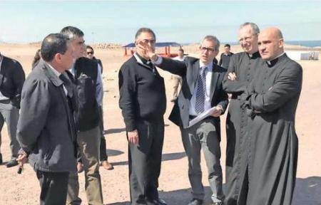 Avanzada del Vaticano llegó a definir detalles de misa en Lobito