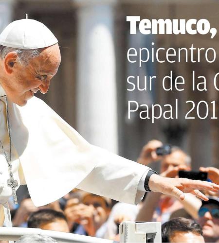 Temuco, epicentro sur de la Gira Papal 2018