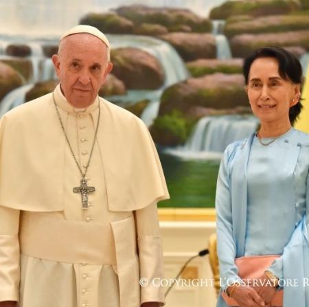 Myanmar: El Papa llama a la paz y al respeto de cada grupo étnico