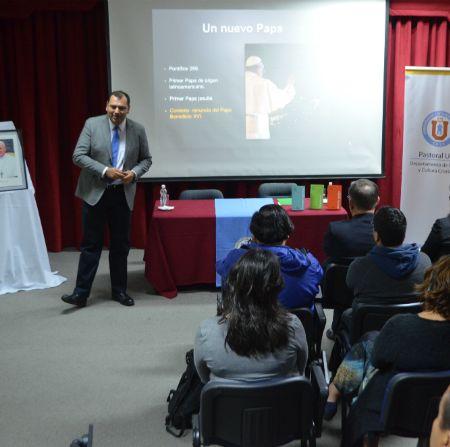 Con seminarios y charla Coquimbo se prepara para la Visita del Papa