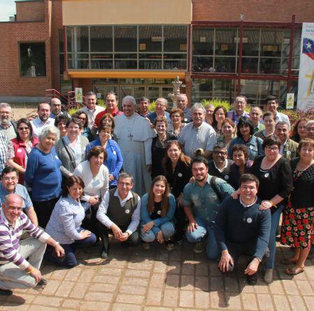 El Consejo Pastoral Diocesano de Talca se puso en #ModoPapa