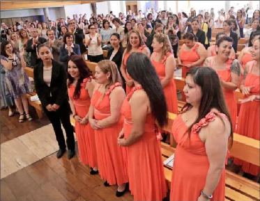 Coro de la cárcel de mujeres le cantará al Papa un tema inédito