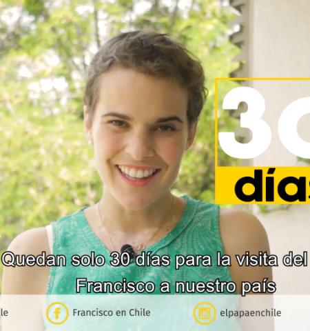 30 recomendaciones para las actividades masivas del Papa en Chile