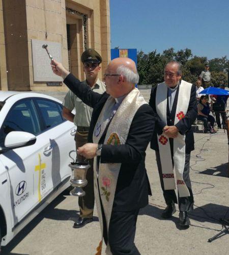 Por primera vez el Papa Francisco utilizará un auto híbrido en una visita apostólica
