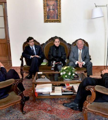 Santiago dispuesto para la visita del Papa