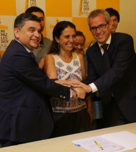 Histórico: Comisión firmó inédito protocolo con el Consejo Nacional de la Transparencia