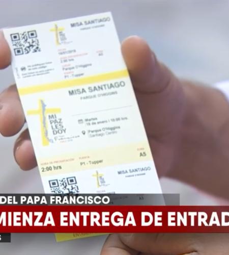 Comienza la entrega de entradas para misa del Papa Franisco en el país
