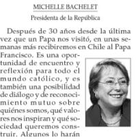 El Chile que recibe al Papa Francisco