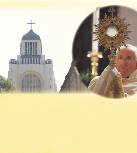 Vigilia de Adoración para la visita del Papa en el Santuario Nacional de Maipú