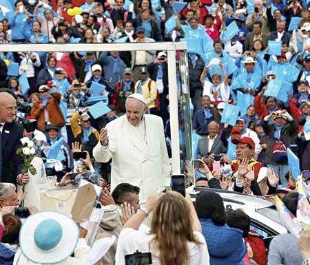 Visita del Papa: Paso Los Libertadores cuadruplicará atención de buses con peregrinos