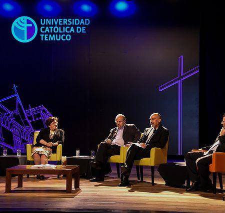 """Conversatorio """"A 30 años de la visita de Juan Pablo II, Bienvenido Francisco"""""""