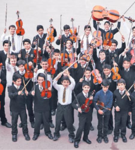 Niños músicos y bailarines recibirán al Papa Francisco