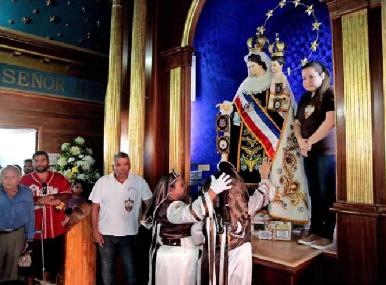 En caravana trasladarán a Virgen de La Tirana para ser coronada por el Papa en playa iquiqueña