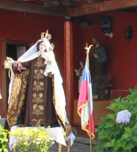Virgen del Carmen de Pelarco será bendecida por el Papa Francisco