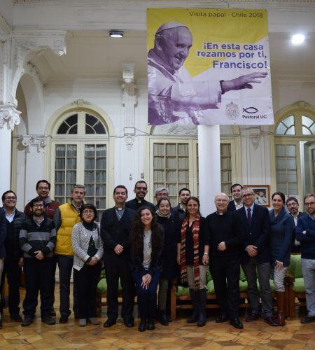 Comisión Visita del Papa con nuevas oficinas