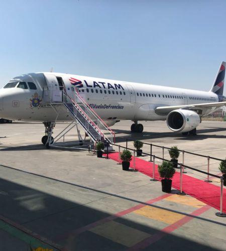 #ElVueloDeFrancisco: Presentan el avión donde viajará el Santo Padre