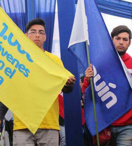 Más de mil jóvenes de Duoc UC se comprometen con la visita del Papa Francisco al país