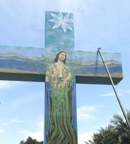 Cruces de las Virtudes, las monumentales obras que quedarán como recuerdo de la visita de Francisco