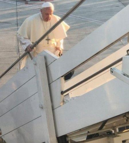 El Papa en el avión: Conozco bien Chile