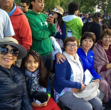 El reencuentro de cuatro hermanas en torno a Francisco