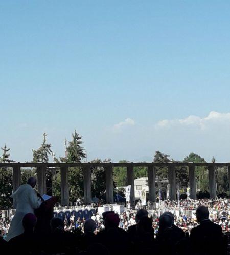 """El Papa anima a los jóvenes: """"Pregúntense ¿qué haría Cristo en mi lugar?"""""""