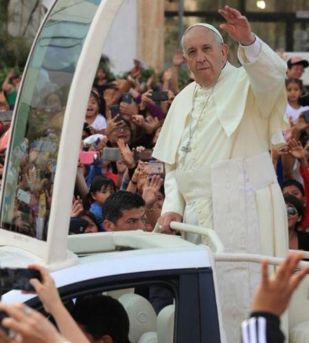 Papa Francisco se despidió del Perú tras visita de cuatro días