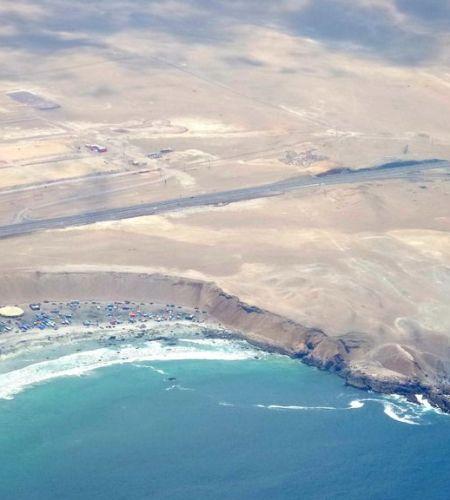 Misa Masiva en sector de la Playa Lobito