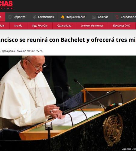 Las misas masivas que encabezará Francisco en Chile