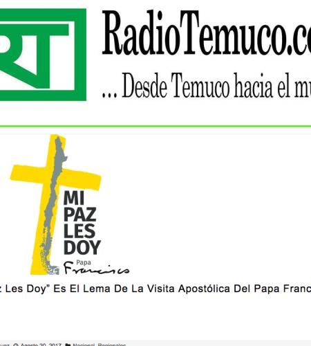 Lanzan lema y logo de la visita apostólica del Papa