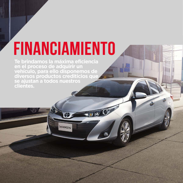Financiamiento Toyota