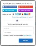 LoginRadius.com-Sign-up-with-Social-ID