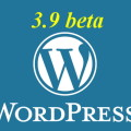 wordpress beta 3.9 logo