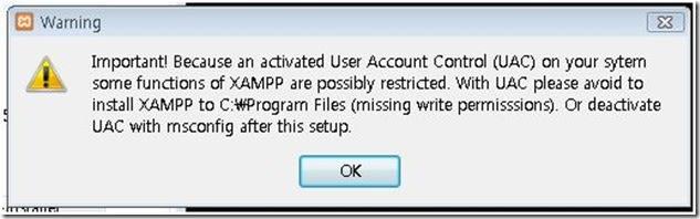 UAC-warning-for-XAMPP
