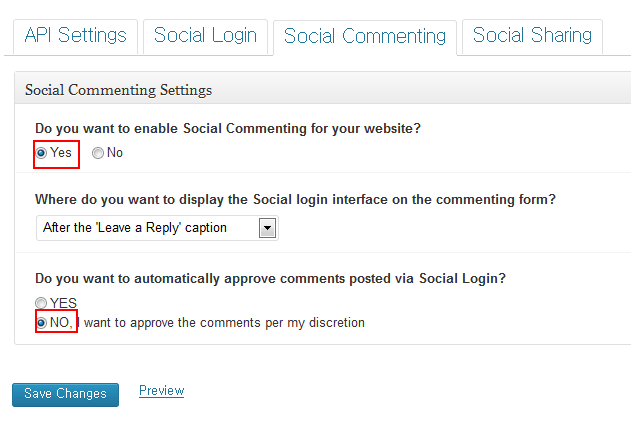 social commenting