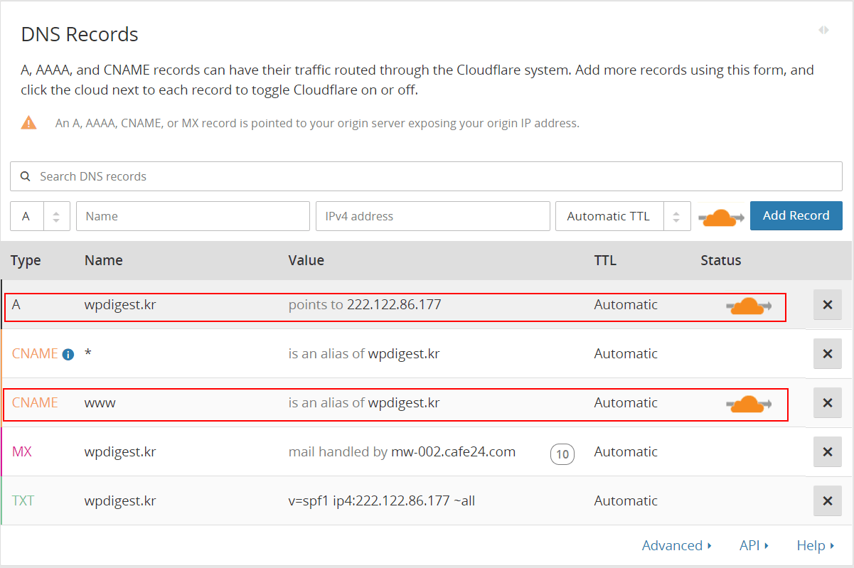 Cloudflare_DNS_records_scan_results