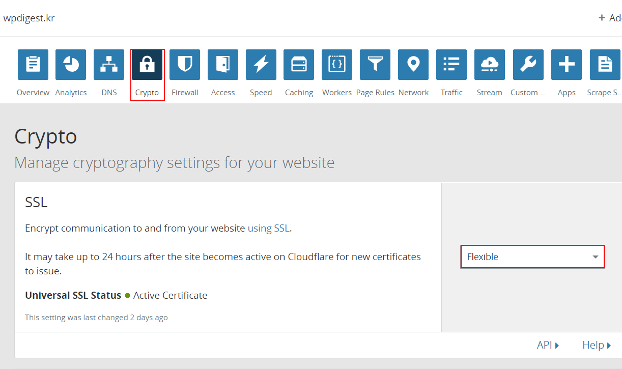 cloudflare_select_SSL_flexible