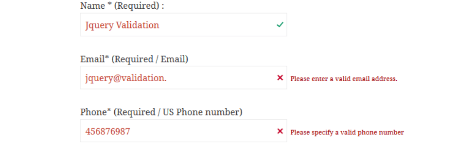 wordpress eklentisi jquery validation for contact form 7